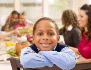 kid at thanksgiving website