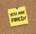 You Are Fired - website
