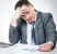 Stressed Businessman - website