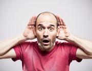 man holding ears - ws