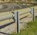 Curvy road - guard rail