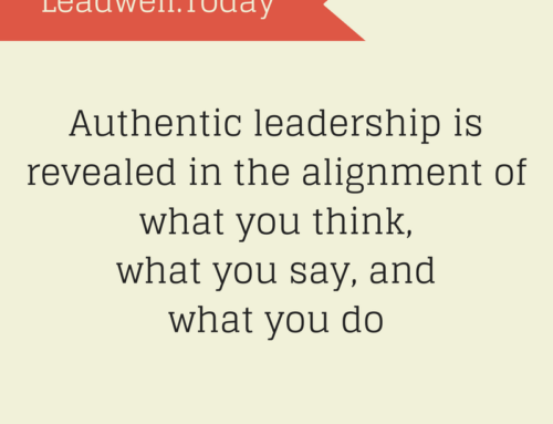 Quote – Authentic Leadership Revealed