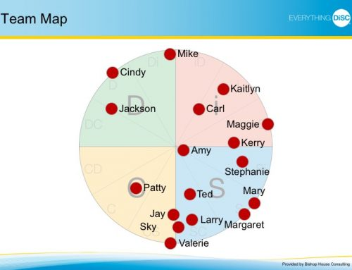 Ways to Leverage Your Team's DiSC Map