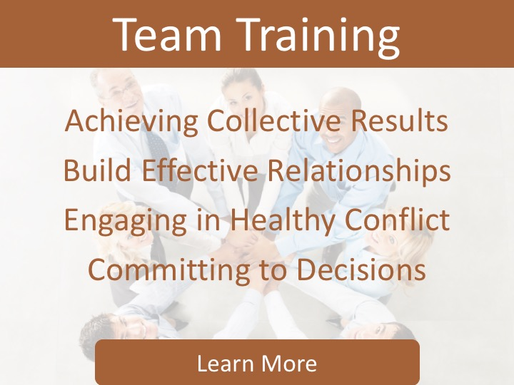 Team Training Sidebar
