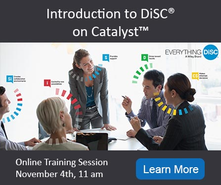Introduction to DiSC on Catalyst