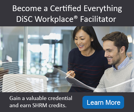 Become a Certified Everything DiSC Workplace Facilitator